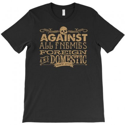 Against All Enemies Foreign T-shirt Designed By Printshirts