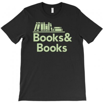 Books And Books T-shirt Designed By Printshirts