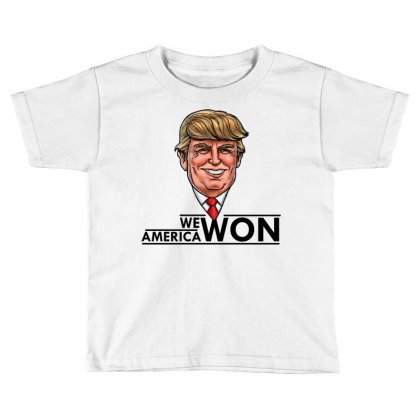 President Trump Toddler T-shirt Designed By Designbycommodus