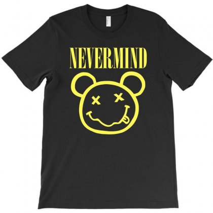 Nevermind T-shirt Designed By Munil