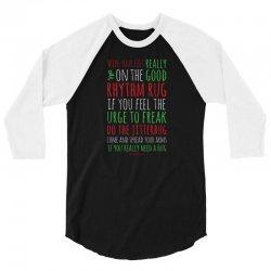 Words 3/4 Sleeve Shirt | Artistshot