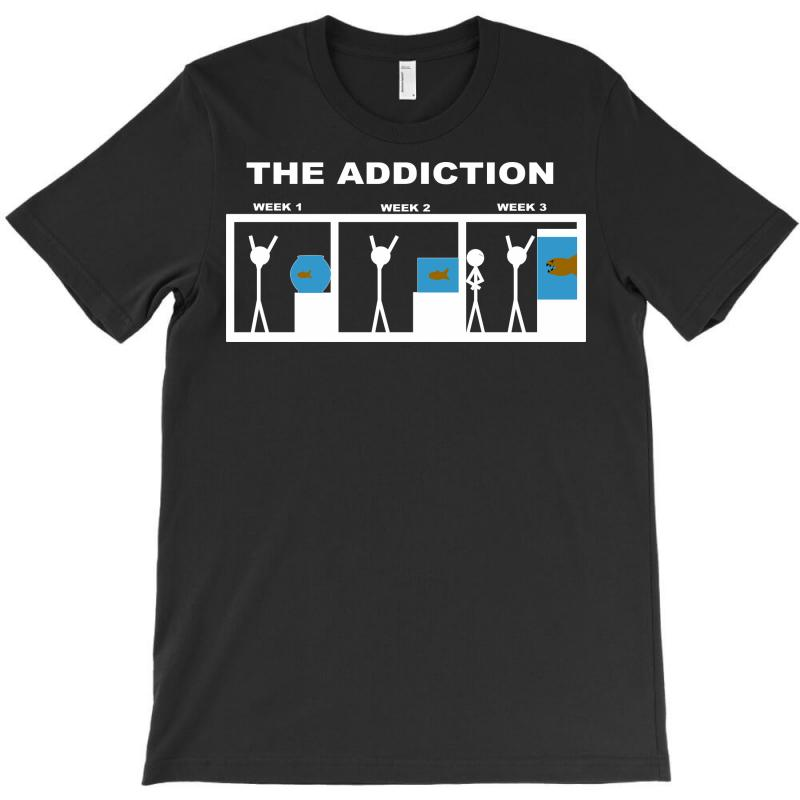 4031ee49 Custom The Addiction Of Aquariums T-shirt By Yudyud - Artistshot