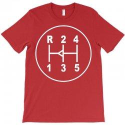 sports car gear knob, transmission shift pattern T-Shirt | Artistshot