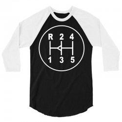 sports car gear knob, transmission shift pattern 3/4 Sleeve Shirt | Artistshot