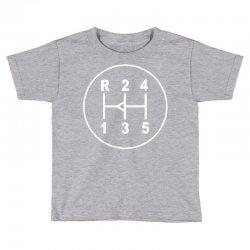 sports car gear knob, transmission shift pattern Toddler T-shirt | Artistshot
