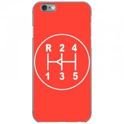 sports car gear knob, transmission shift pattern iPhone 6/6s Case | Artistshot