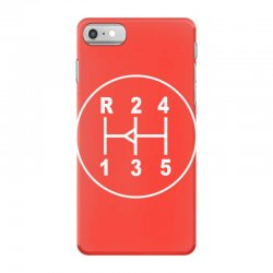 sports car gear knob, transmission shift pattern iPhone 7 Case | Artistshot