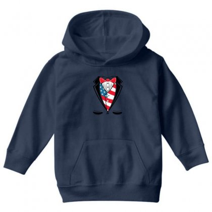Usa Youth Tuxedo Youth Hoodie