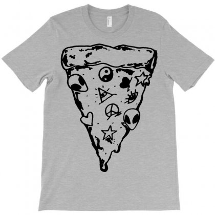 90s Pizza Slice T-shirt Designed By Suarepep