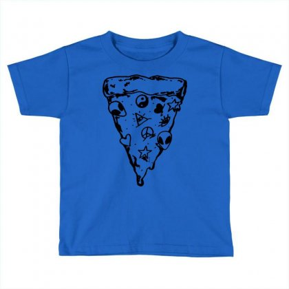 90s Pizza Slice Toddler T-shirt Designed By Suarepep