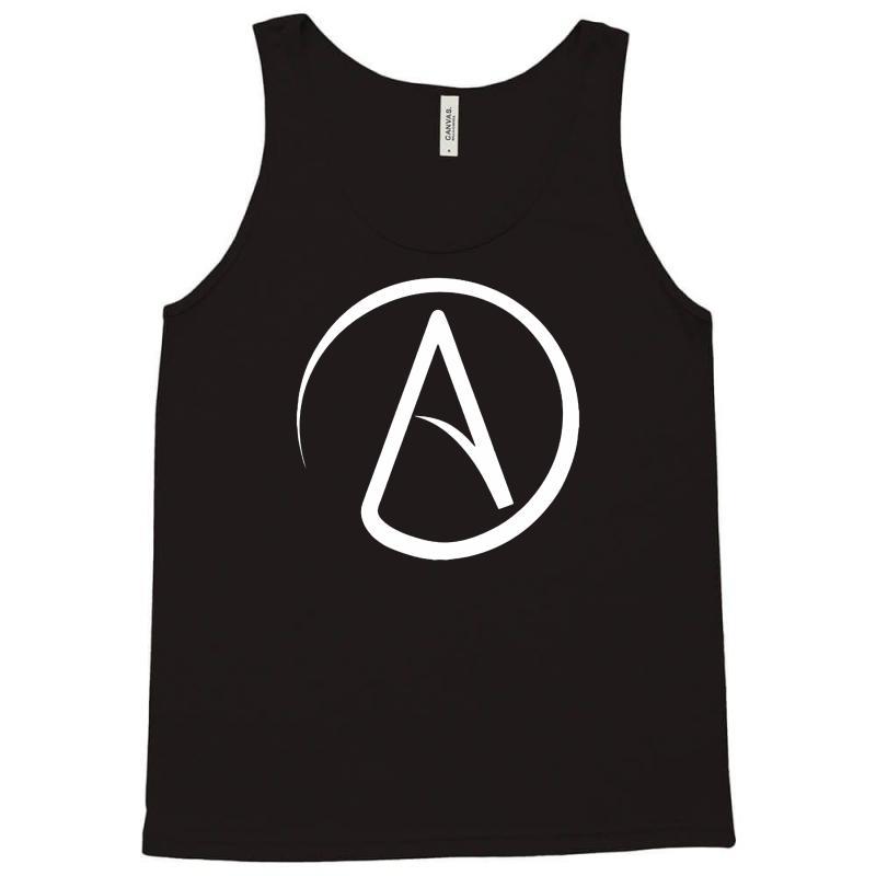 Custom Atheist Symbol On Tank Top By Suarepep Artistshot