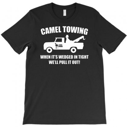 Camel Towing Funny T-shirt Designed By Suarepep