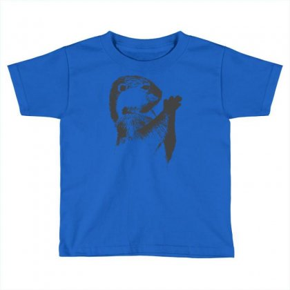 Otter Sketch T Shirt T Shirt Toddler T-shirt Designed By Suarepep