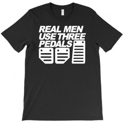 Real Man Use Three Pedals Funny T-shirt Designed By Suarepep