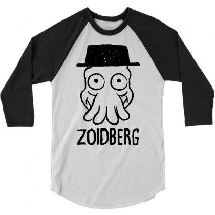 Zoidberg 3/4 Sleeve Shirt Designed By Suarepep