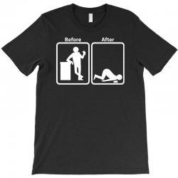 before after T-Shirt | Artistshot
