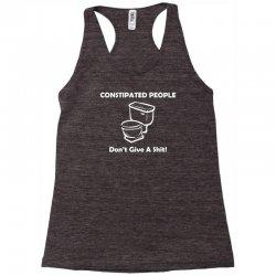 constipated people Racerback Tank | Artistshot
