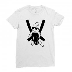 hangover baby Ladies Fitted T-Shirt | Artistshot