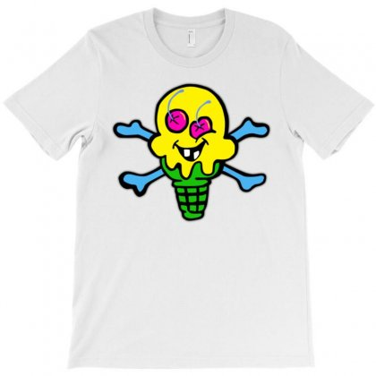 Mad Ice Cream T-shirt Designed By Munil