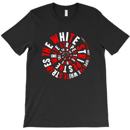 The White Stripes Circles T-shirt Designed By Munil