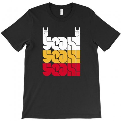 Yeah Rock T-shirt Designed By Munil