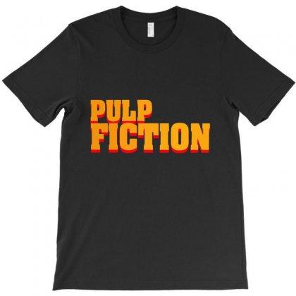 Pulp Fiction T-shirt Designed By Nickysu   Artistshot