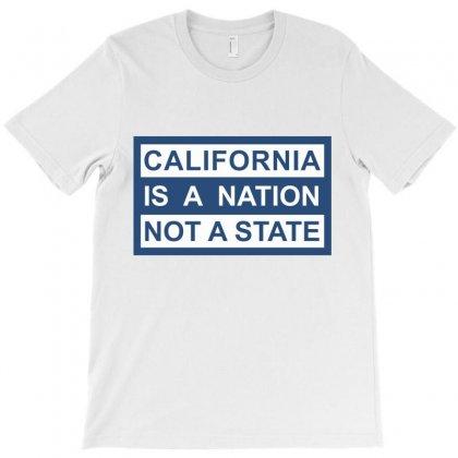 California Is A Nation T-shirt Designed By Nickysu   Artistshot