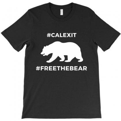 Calexit - Free The Bear T-shirt Designed By Nickysu   Artistshot