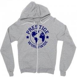 prestige worldwide Zipper Hoodie | Artistshot