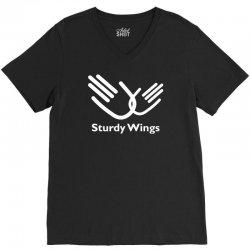 sturdy wings V-Neck Tee | Artistshot