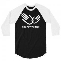 sturdy wings 3/4 Sleeve Shirt | Artistshot