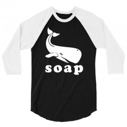soap 3/4 Sleeve Shirt | Artistshot