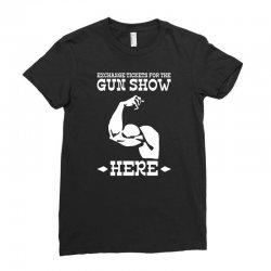 the gun show Ladies Fitted T-Shirt | Artistshot