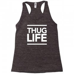 thug life Racerback Tank   Artistshot