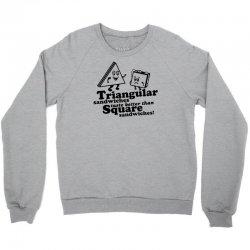 triangular sandwiches Crewneck Sweatshirt   Artistshot