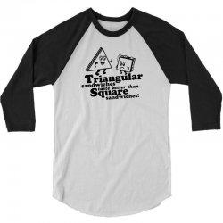 triangular sandwiches 3/4 Sleeve Shirt   Artistshot
