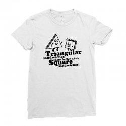 triangular sandwiches Ladies Fitted T-Shirt   Artistshot