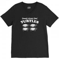 turtles heroes V-Neck Tee | Artistshot
