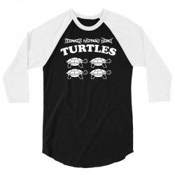 turtles heroes 3/4 Sleeve Shirt | Artistshot
