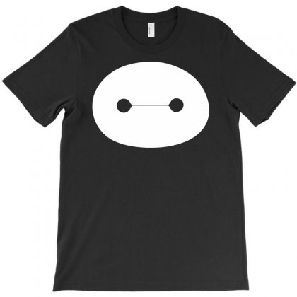 Big Hero 6 Baymax Head Eyes T-shirt Designed By Mdk Art