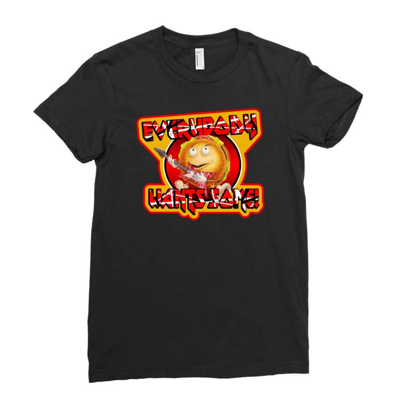 Comedy Better Off Dead Ladies Fitted T-shirt   Artistshot
