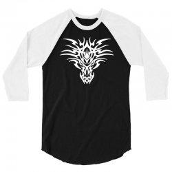dragon pics 3/4 Sleeve Shirt | Artistshot