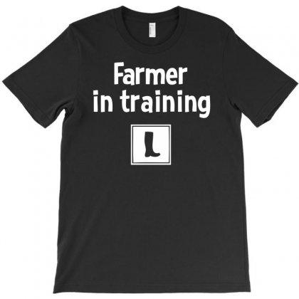 Farmer In Training T-shirt Designed By Mdk Art