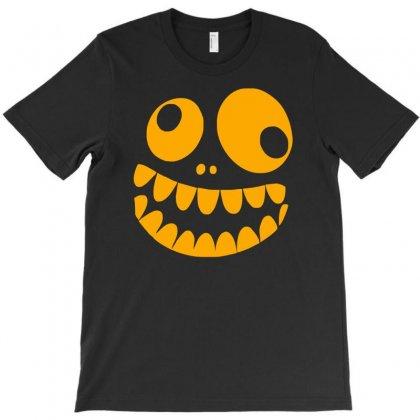 Funny Crazy Monster Face T-shirt Designed By Mdk Art