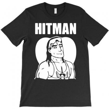 Hitman Hart Funny T-shirt Designed By Mdk Art