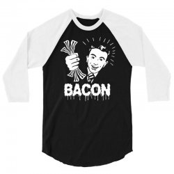 love bacont fun ny 3/4 Sleeve Shirt | Artistshot