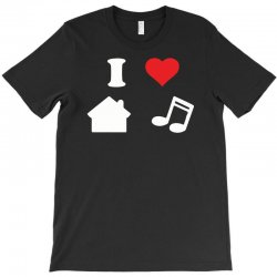 love house music funny T-Shirt | Artistshot