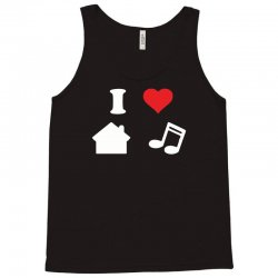 love house music funny Tank Top | Artistshot