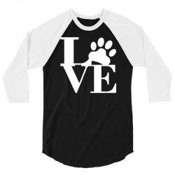 love paw 3/4 Sleeve Shirt | Artistshot