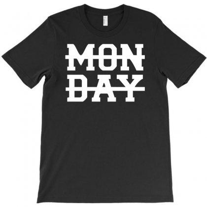 Monday Funny T-shirt Designed By Mdk Art